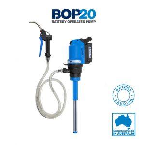 BOP: Bomba de aceite de batería para contenedores de 5 Galones